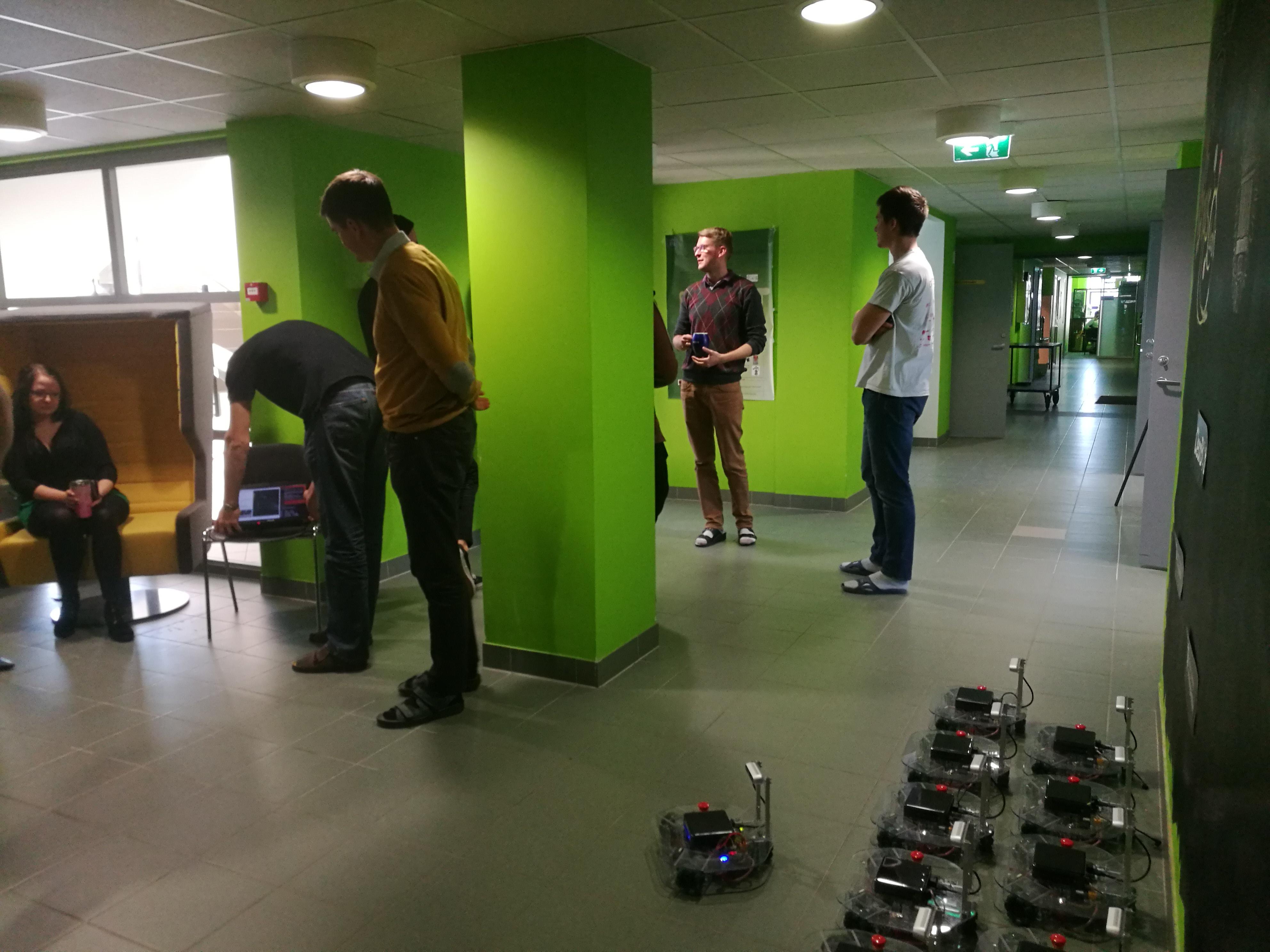 15 Robots in University of Tartu